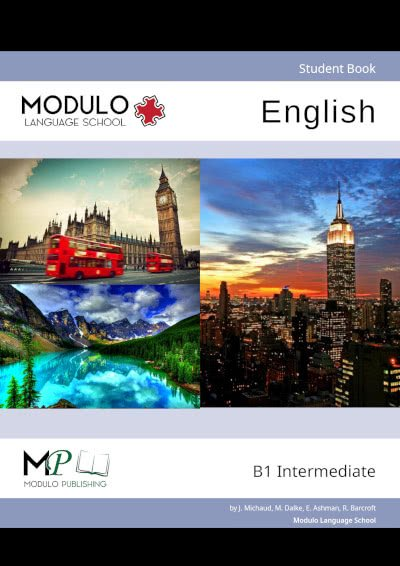Modulo's English B1 materials