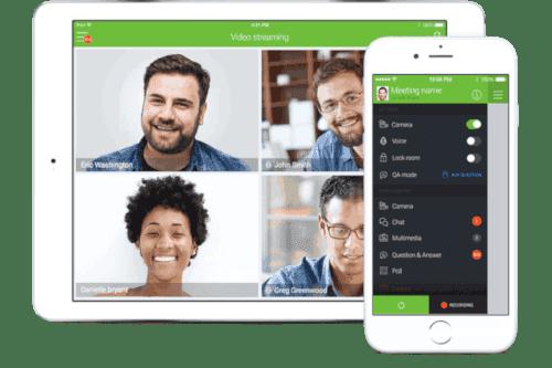 Screenshot of Modulo's online learning platform
