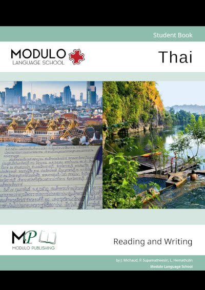 Modulo's Thai reading and writing materials