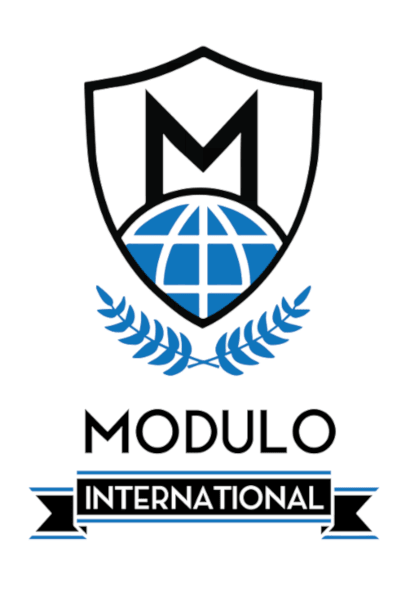 emblem of the Modulo course for international school students